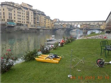 Misure di portata in alvei profondi con River Surveyor